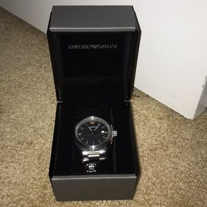 Emporio Armani stainless steel watch AR6128